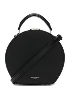 Saint Laurent Leather Mica Hat Case