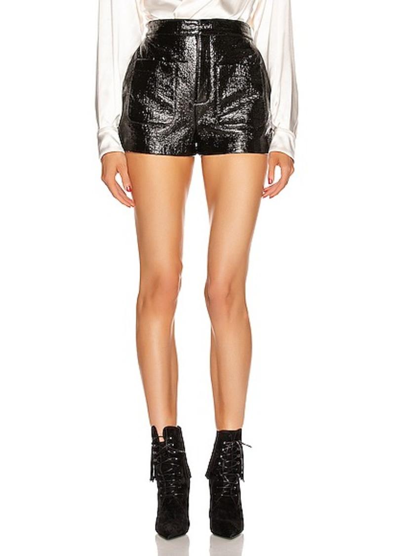 Saint Laurent Leather Short