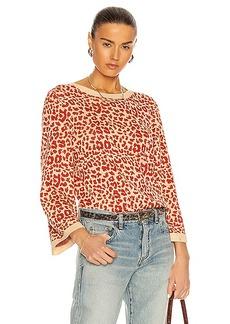 Saint Laurent Leopard Sweater