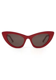 Saint Laurent Lily cat-eye acetate sunglasses