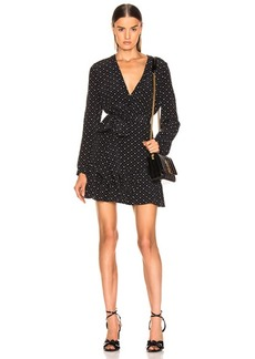 Saint Laurent Long Sleeve Dress