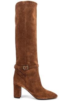 Saint Laurent Lou Harness Boots