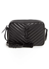 Saint Laurent Lou Matelassé Calfskin Leather Camera Bag