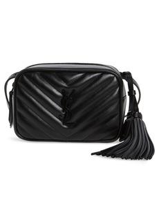 Saint Laurent Lou Matelassé Leather Belt Bag