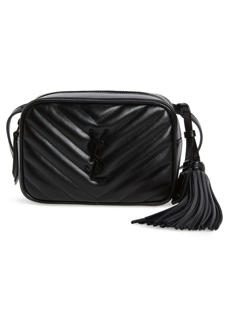Saint Laurent Lou Matelassé Leather Belt Bag