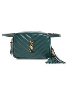 Saint Laurent Loulou Matelassé Leather Belt Bag