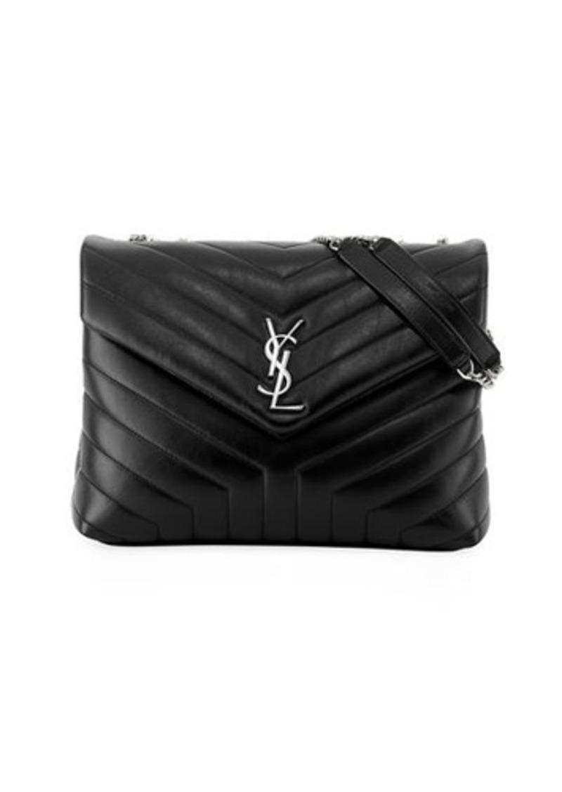 25476194 Loulou Monogram YSL Medium Chain Shoulder Bag