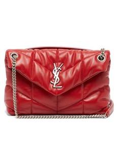 Saint Laurent Loulou Puffer small leather shoulder bag