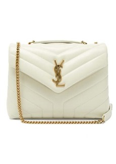 Saint Laurent Loulou small quilted-leather shoulder bag