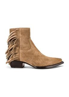 Saint Laurent Lukas Fringe Boots
