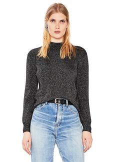 Saint Laurent Lurex Crewneck Sweater