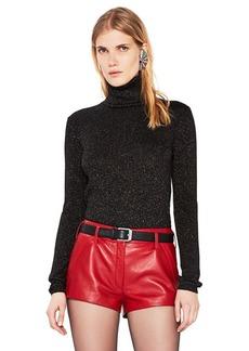 Saint Laurent Lurex Turtleneck Sweater
