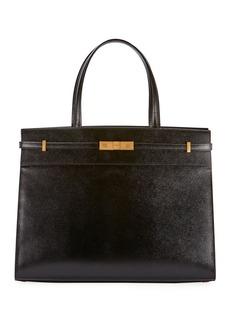 Saint Laurent Manhattan Medium Grained Tote Bag