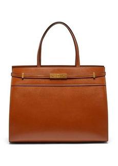 Saint Laurent Manhattan medium leather tote bag