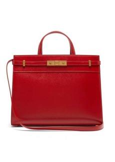 Saint Laurent Manhattan small leather tote bag
