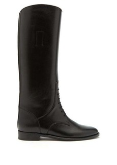 Saint Laurent Mathilde knee-high leather riding boots