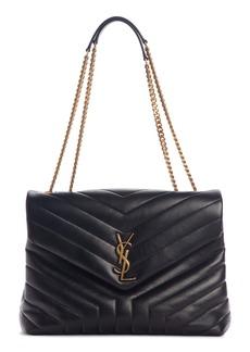 Saint Laurent Medium Loulou Matelassé Leather Shoulder Bag