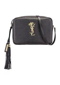 Saint Laurent Medium Monogramme Palm Lou Crossbody Bag