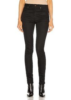 Saint Laurent Medium Waist Skinny Jean