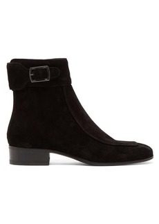 Saint Laurent Miles suede ankle boots