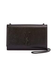 Saint Laurent Monogram Kate Medium Chain Bag  Black