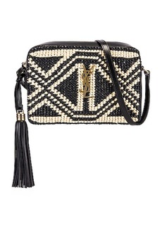 Saint Laurent Monogramme Lou Satchel Crossbody Bag