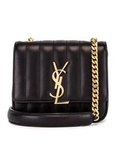 Saint Laurent Monogramme Vicky Shoulder Bag