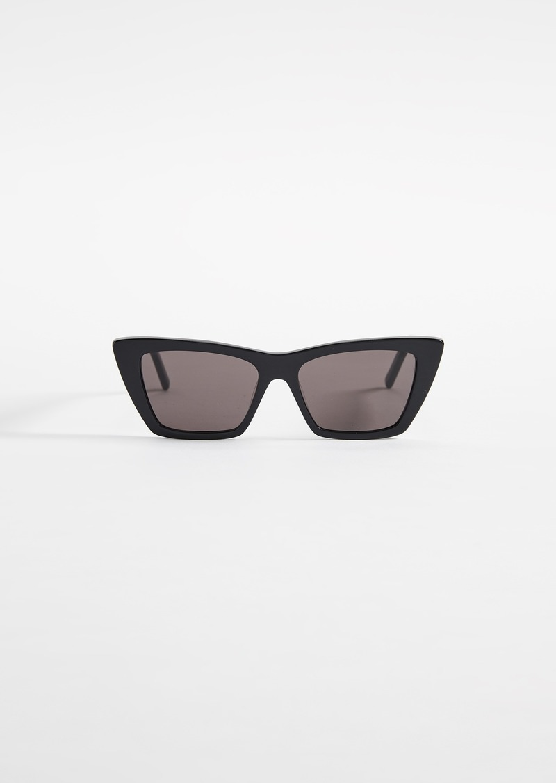 Saint Laurent Narrow Cat Eye Sunglasses