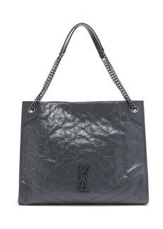 Saint Laurent Niki large quilted tote bag