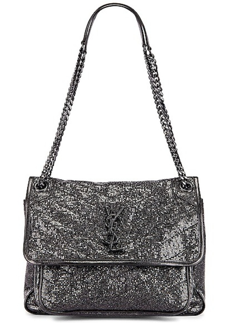 Saint Laurent Niki Medium Monogramme Chain Bag