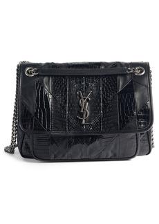 Saint Laurent Niki Medium Patchwork Shoulder Bag