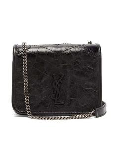 Saint Laurent Niki mini leather cross-body bag