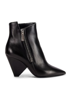 Saint Laurent Niki Zip Booties