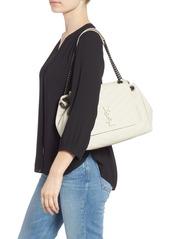 61531e4c8b9d Saint Laurent Saint Laurent Nolita Large Leather Shoulder Bag