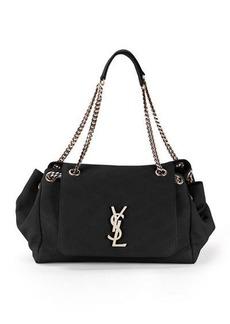 Saint Laurent Nolita Large Monogram YSL Double Chain Shoulder Bag