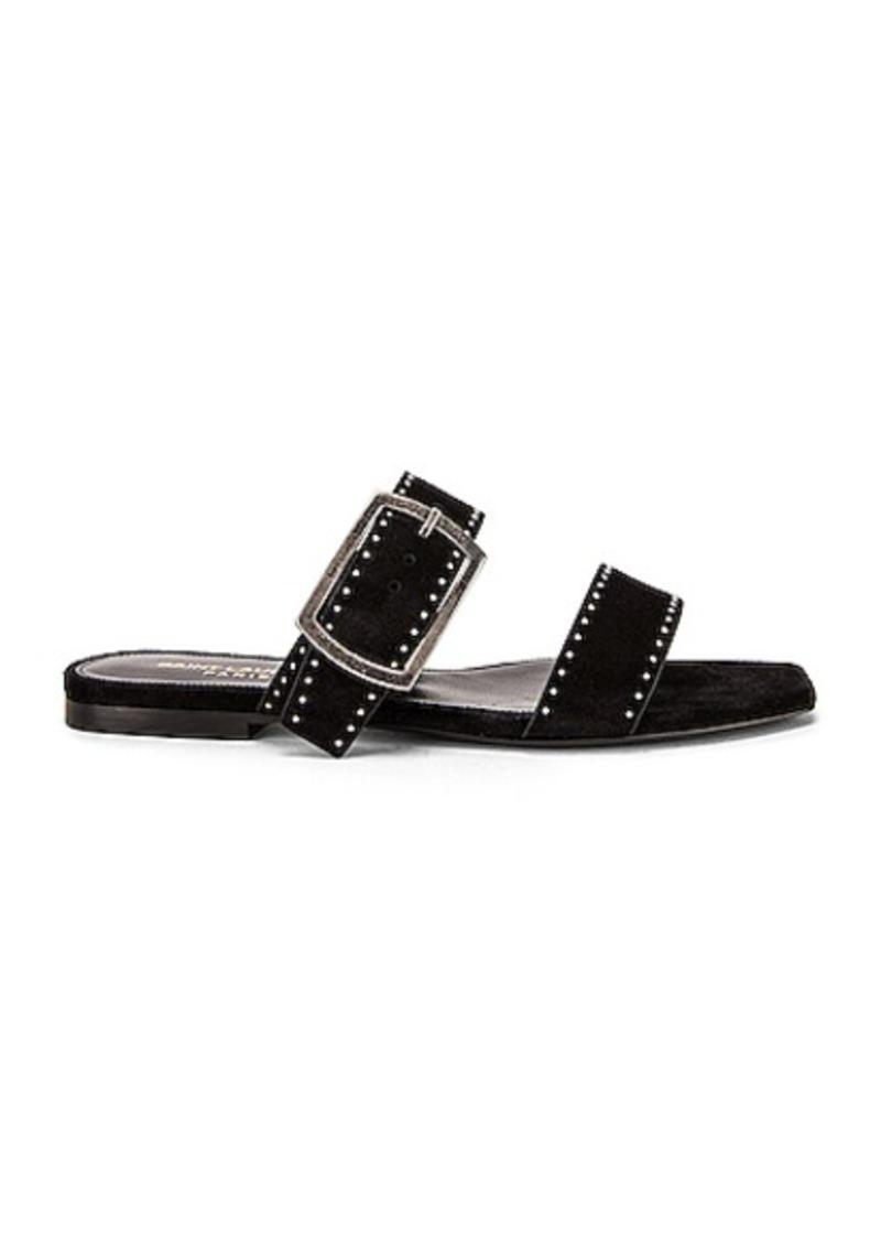 Saint Laurent Oak Buckle Sandals
