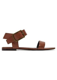Saint Laurent Oak leather buckle sandals