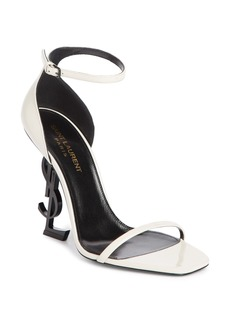 Saint Laurent Opyum YSL Ankle Strap Sandal (Women)