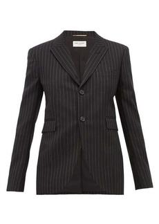 Saint Laurent Pinstriped wool blazer