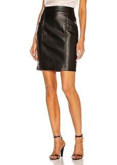 Saint Laurent Pocket Mini Skirt