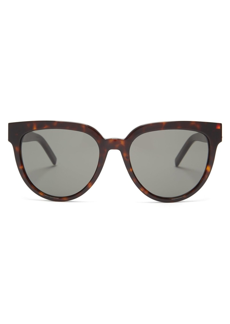 0348e5da6c6 Saint Laurent Saint Laurent Round-frame acetate sunglasses