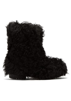 Saint Laurent Shearling ankle boots