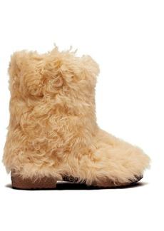 Saint Laurent Shearling ankle boots