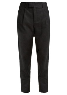 Saint Laurent Signature pinstripe wool trousers