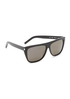 Saint Laurent SL 1 Mineral Glass Sunglasses