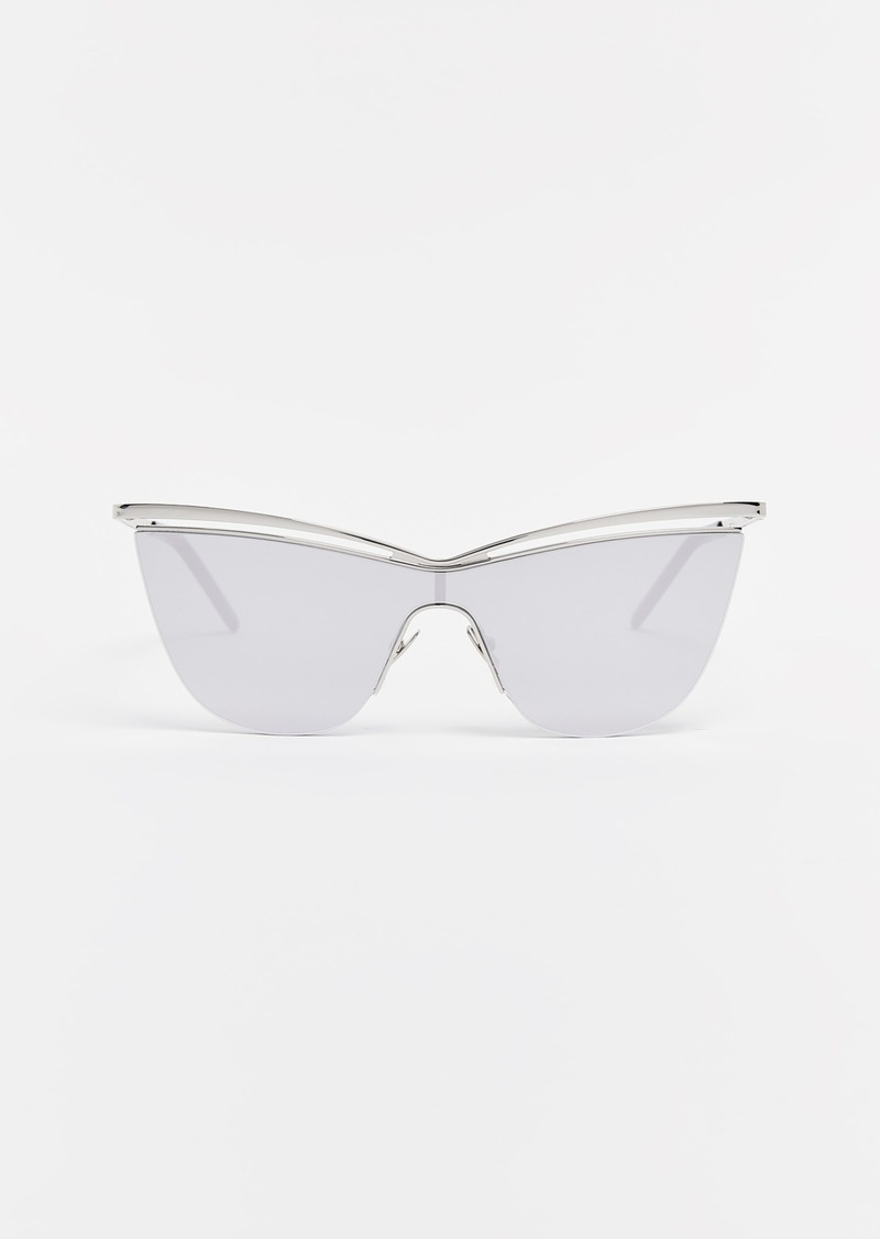Saint Laurent SL 249 Metal Cat Eye Sunglasses