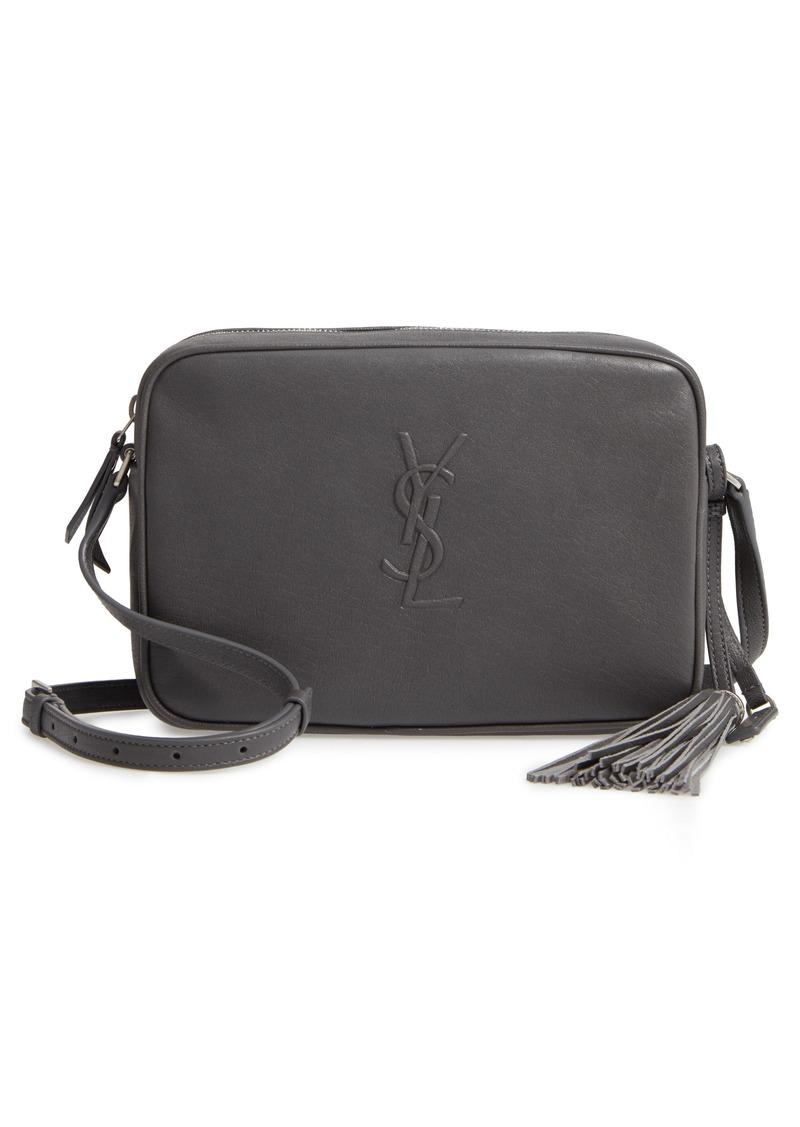 2896a7a0a02 Saint Laurent Saint Laurent Small Mono Leather Camera Bag