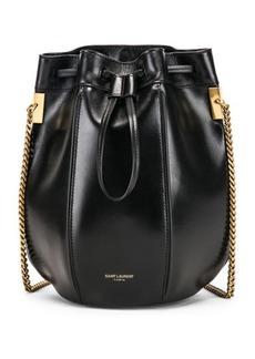 Saint Laurent Small Talitha Chain Bucket Bag