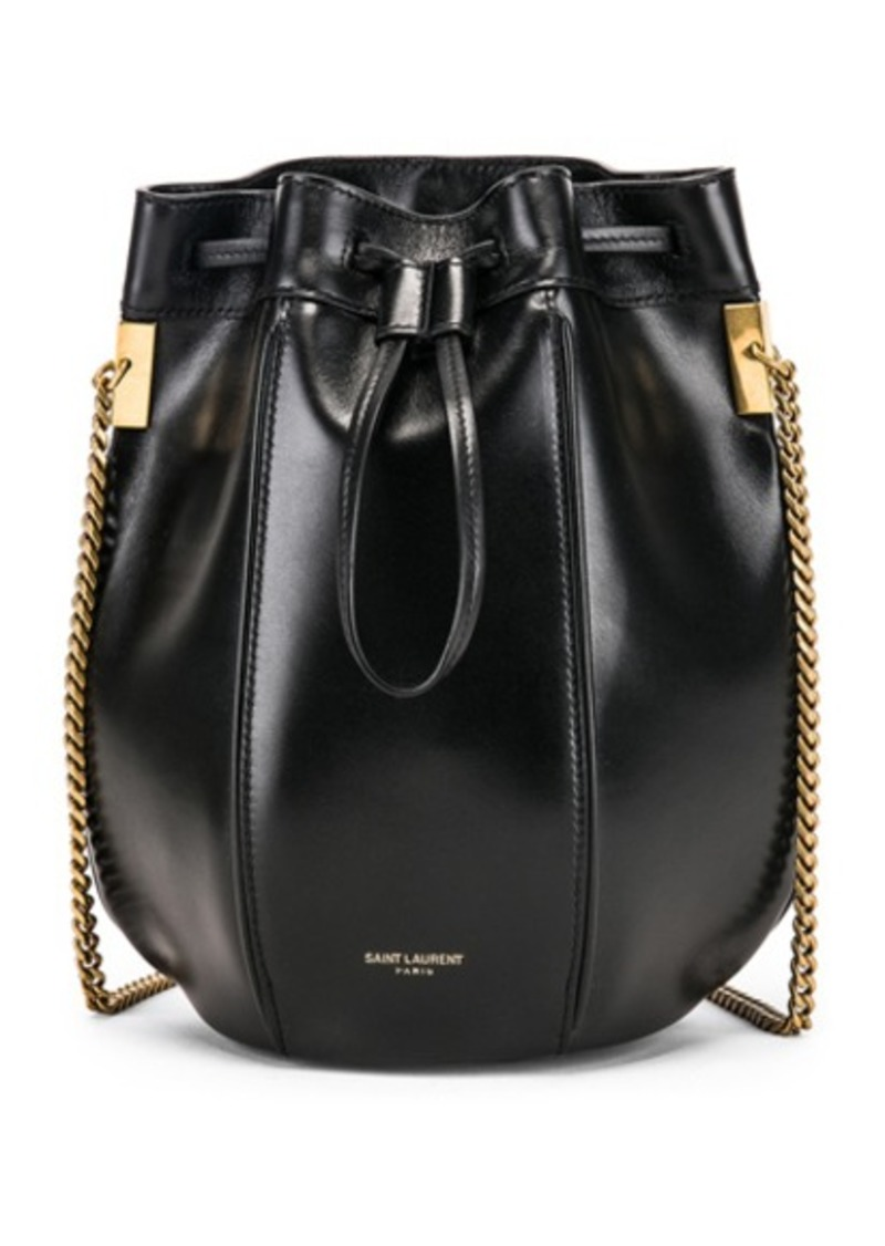 Saint Laurent Small Talitha Chain Bucket Bag