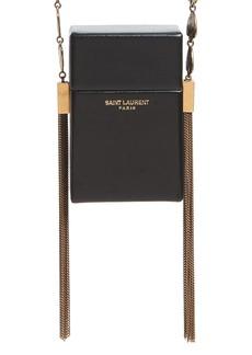 Saint Laurent Smoking Leather Minaudière